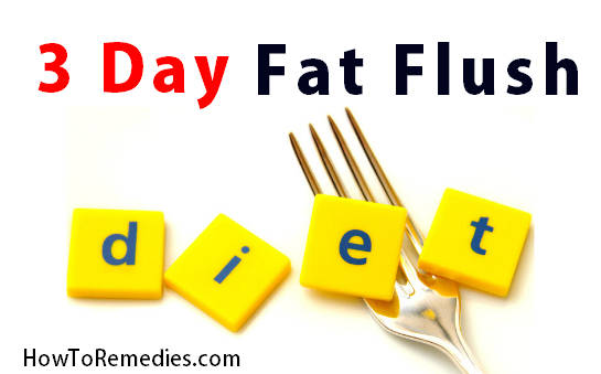 Dr. Oz's 3 day fat flush