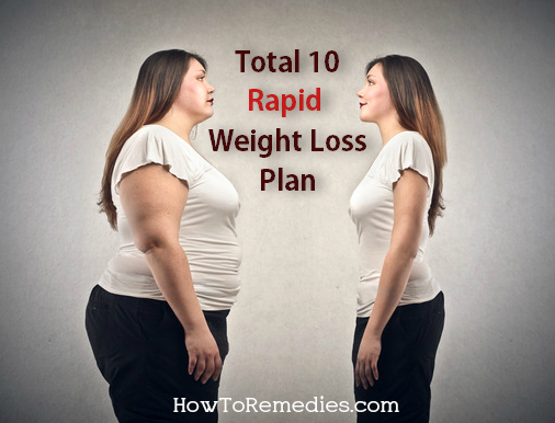 total 10 rapid weight loss plan